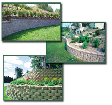 Keystone Retaining Wall Systems Project Examples