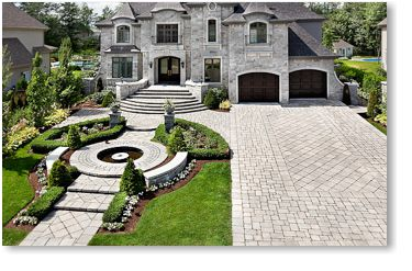 Techo-Bloc Pavers Example Project Application