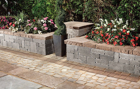 Techo Bloc Walls Manchester At Lincoln Way Landscape Supply