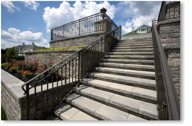 Techo-Bloc Antique Step Example Project Application