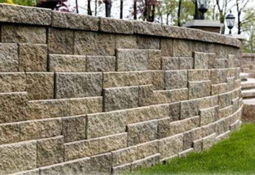 Versa Lok Mosaic Retaining Wall Systems At Lincoln Way